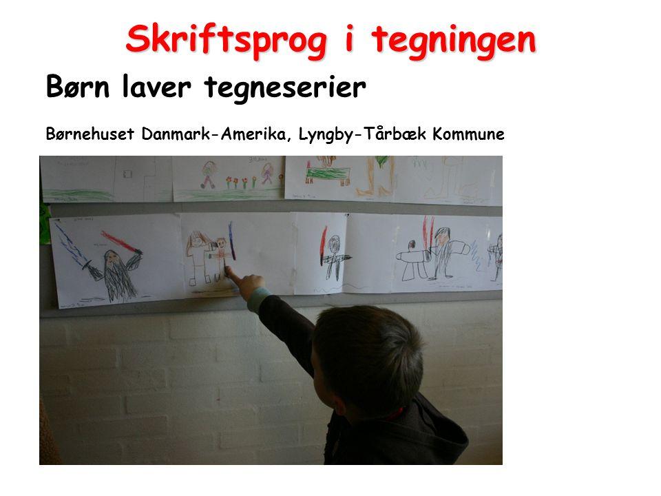 Skriftsprog i tegningen
