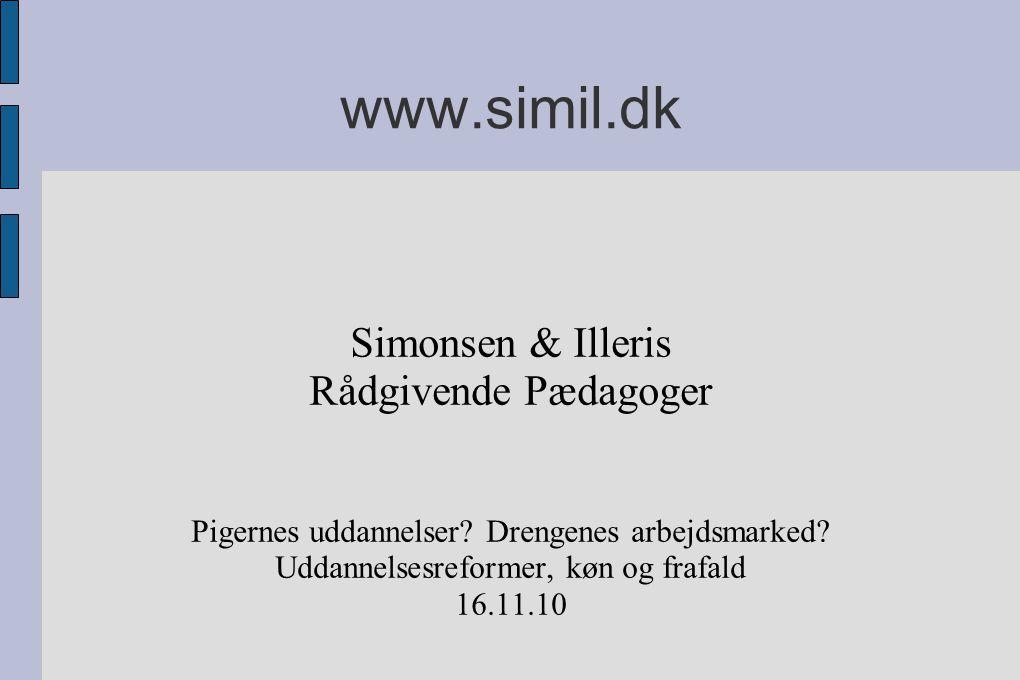 www.simil.dk Simonsen & Illeris Rådgivende Pædagoger