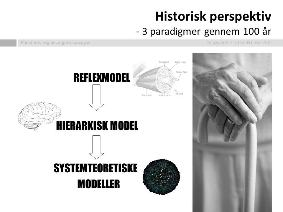 Historisk perspektiv - 3 paradigmer gennem 100 år