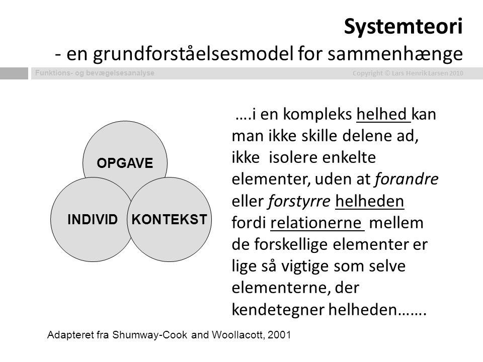 Systemteori - en grundforståelsesmodel for sammenhænge
