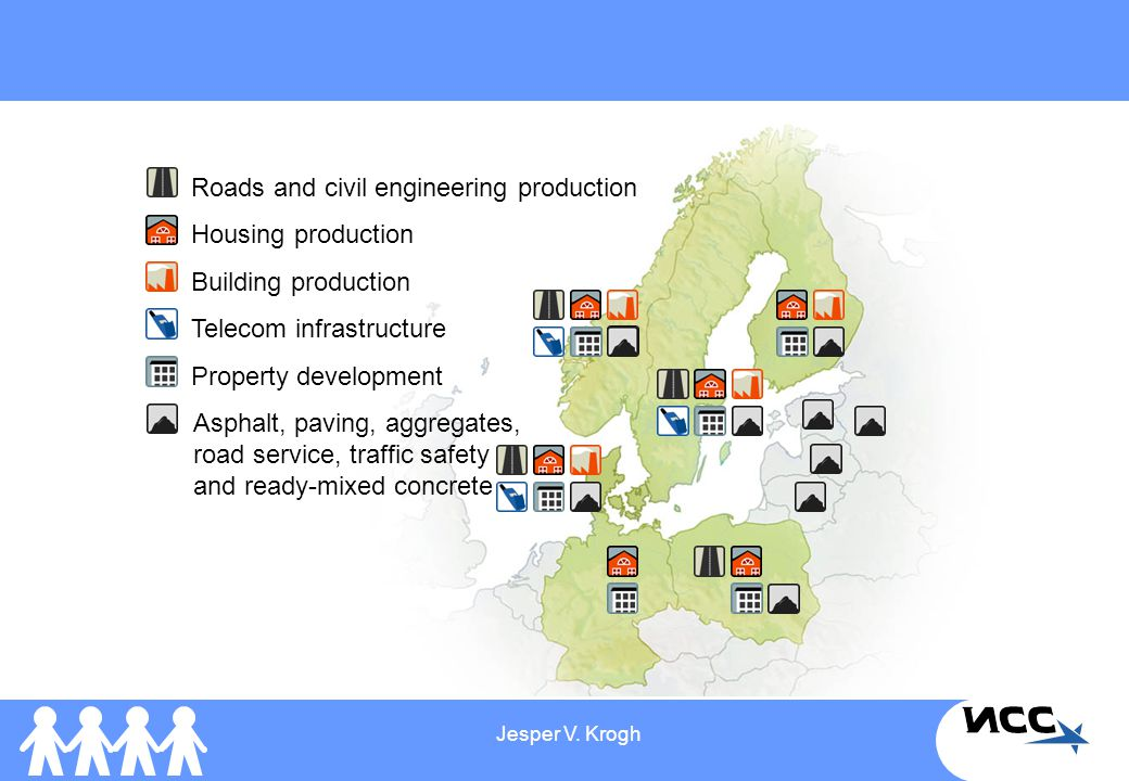 Roads and civil engineering production