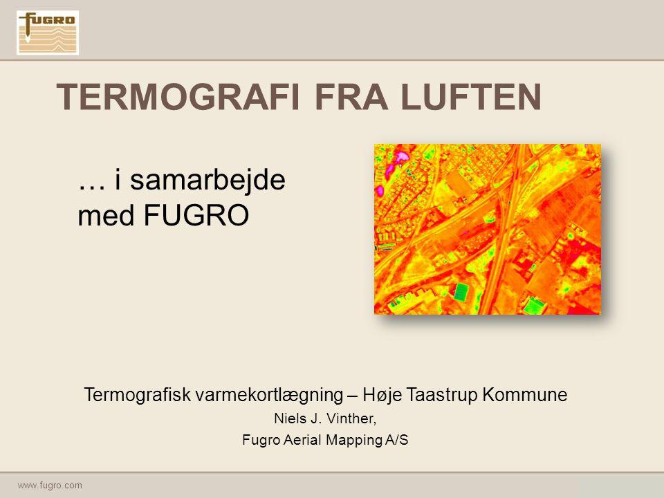 TERMOGRAFI FRA LUFTEN … i samarbejde med FUGRO