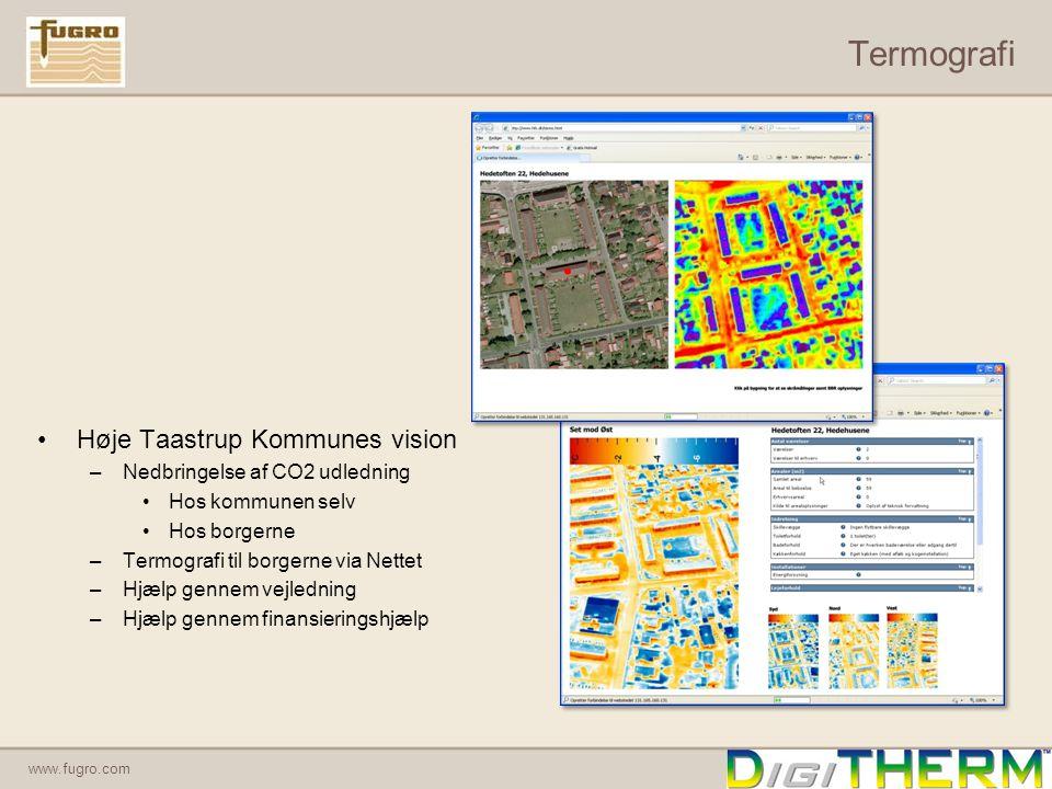 Termografi Høje Taastrup Kommunes vision Nedbringelse af CO2 udledning