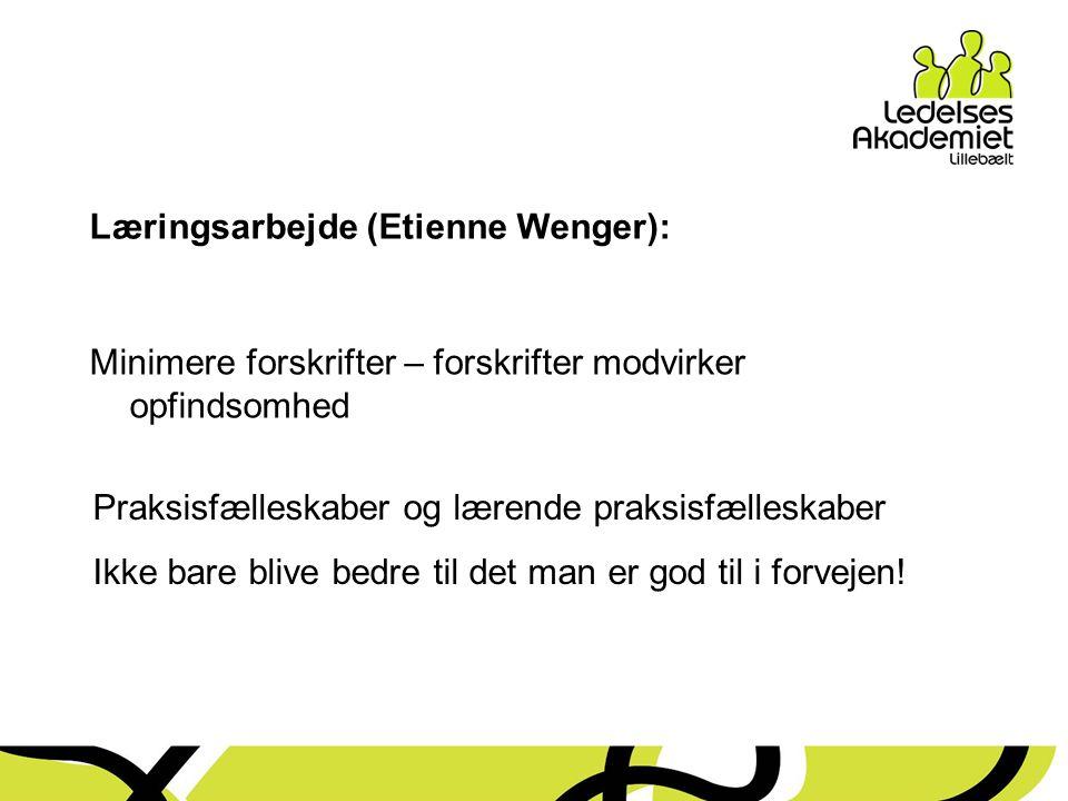 Læringsarbejde (Etienne Wenger):
