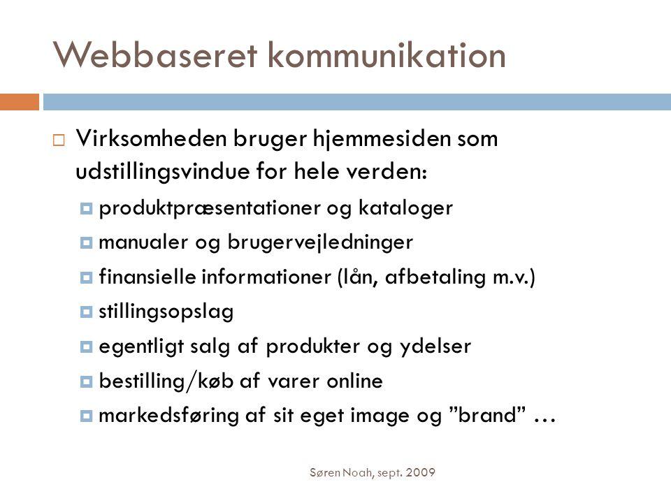 Webbaseret kommunikation
