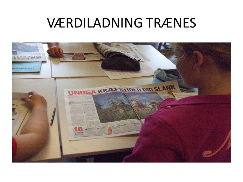 VÆRDILADNING TRÆNES