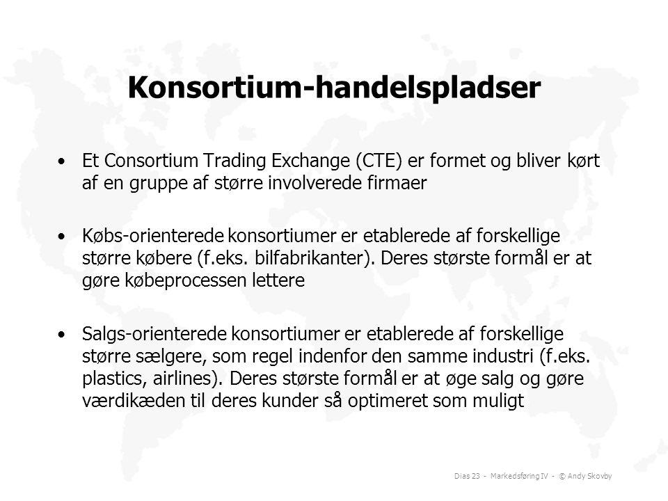 Konsortium-handelspladser