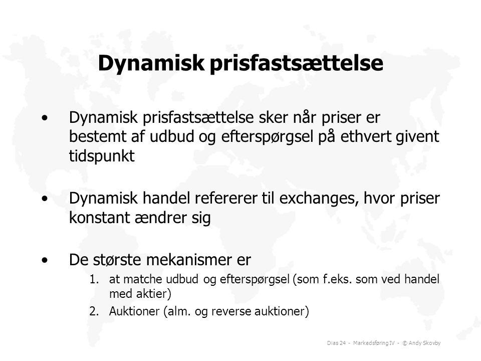 Dynamisk prisfastsættelse