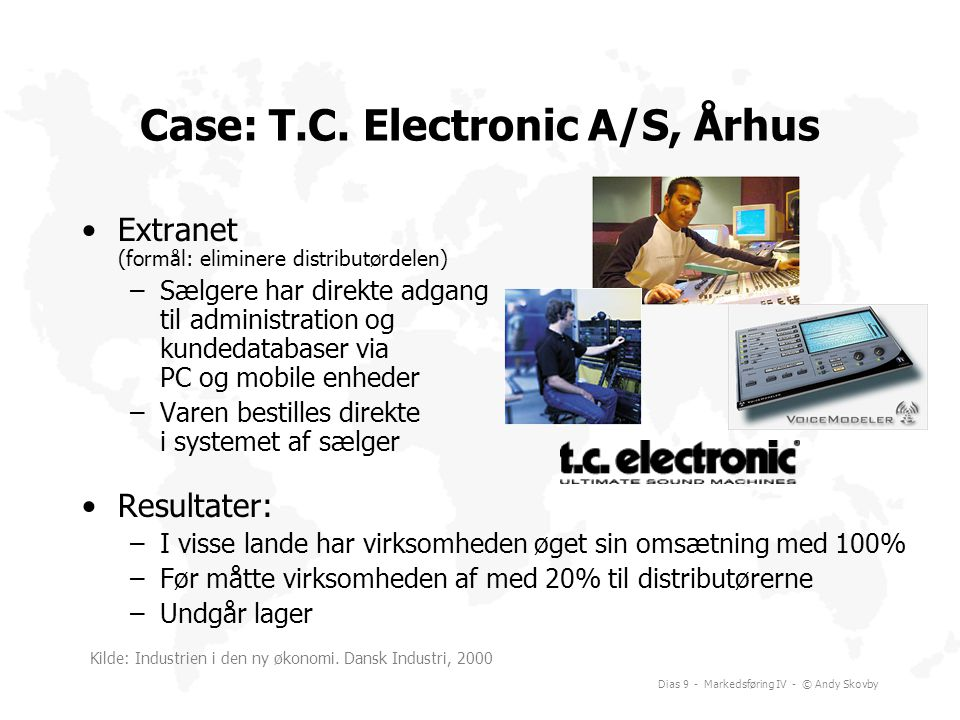 Case: T.C. Electronic A/S, Århus