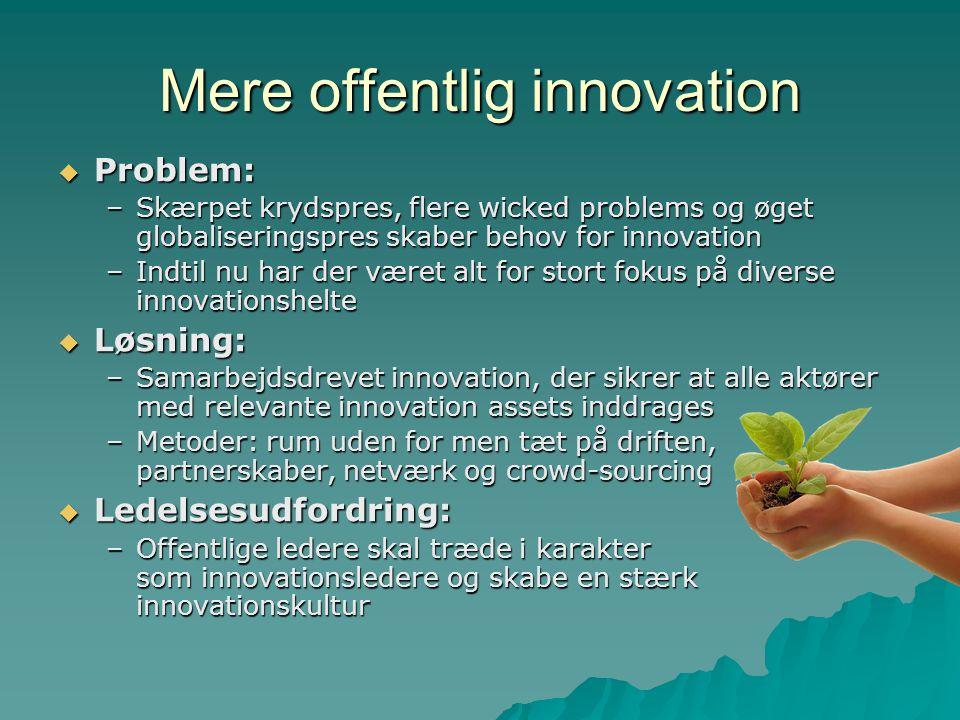 Mere offentlig innovation