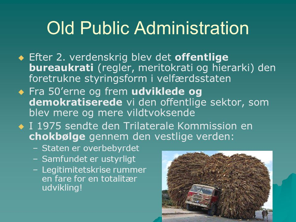Old Public Administration