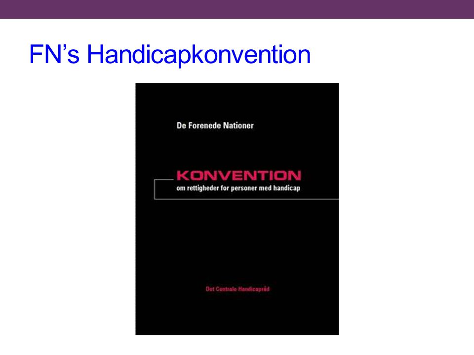 FN's Handicapkonvention