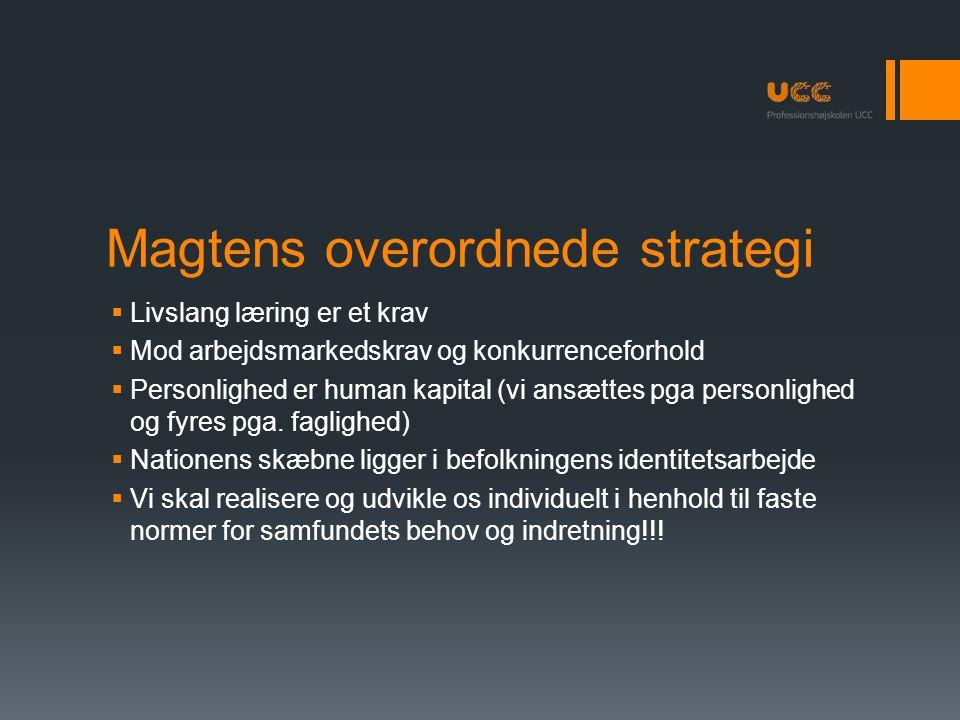 Magtens overordnede strategi