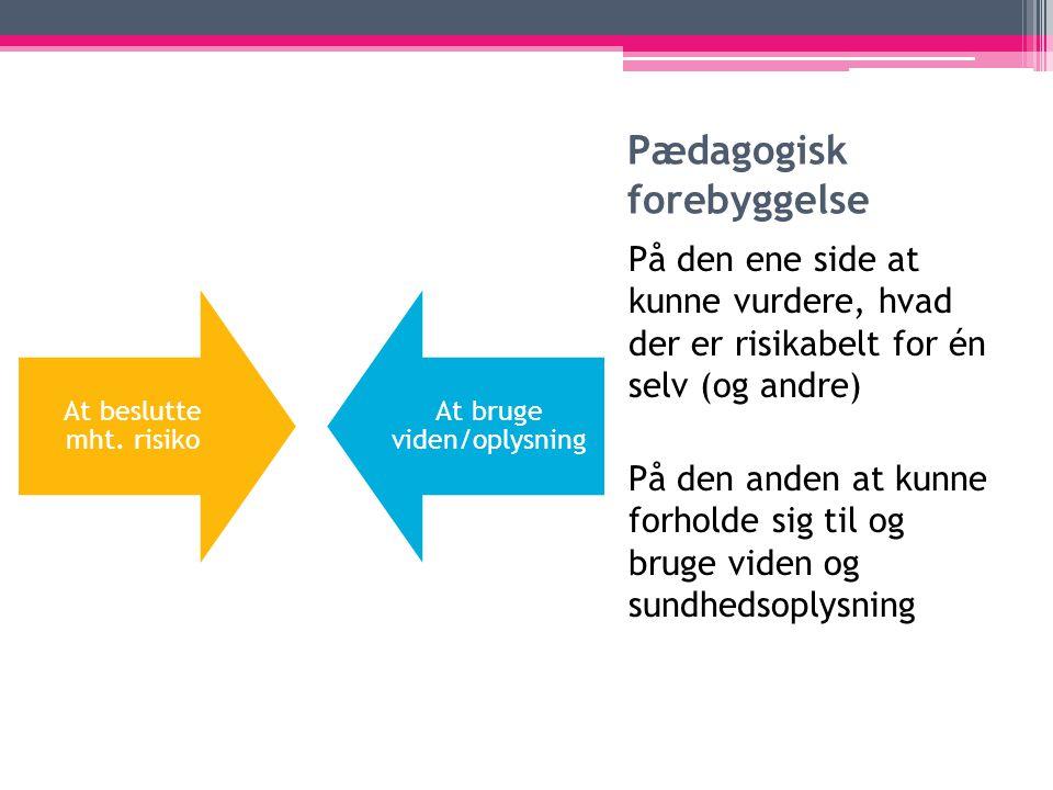 Pædagogisk forebyggelse