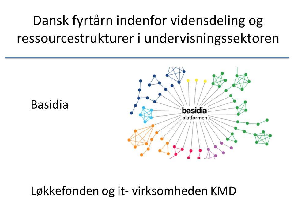 Dansk fyrtårn indenfor vidensdeling og ressourcestrukturer i undervisningssektoren