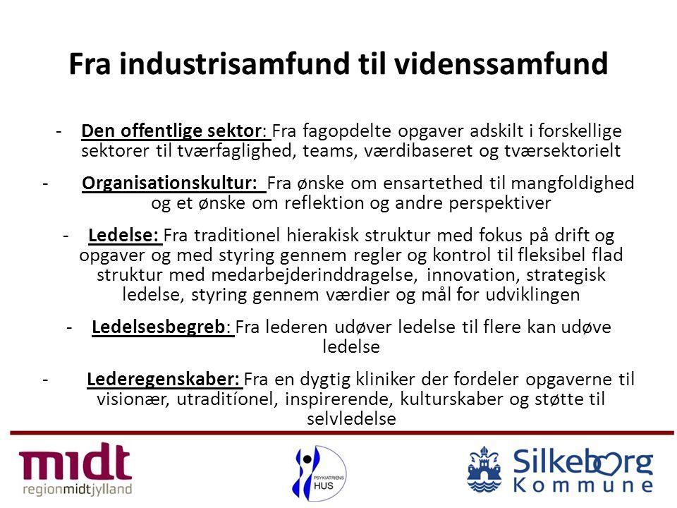 Fra industrisamfund til videnssamfund