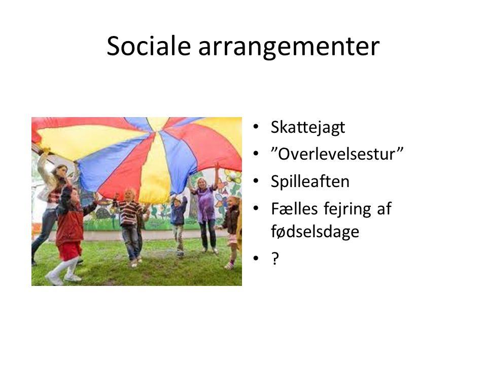 Sociale arrangementer