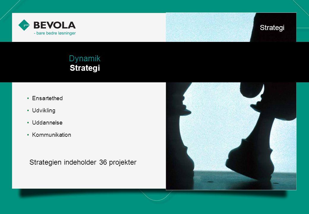 History Dynamik Strategi Strategi Strategien indeholder 36 projekter