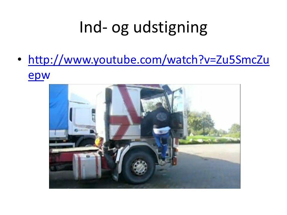 Ind- og udstigning http://www.youtube.com/watch v=Zu5SmcZuepw