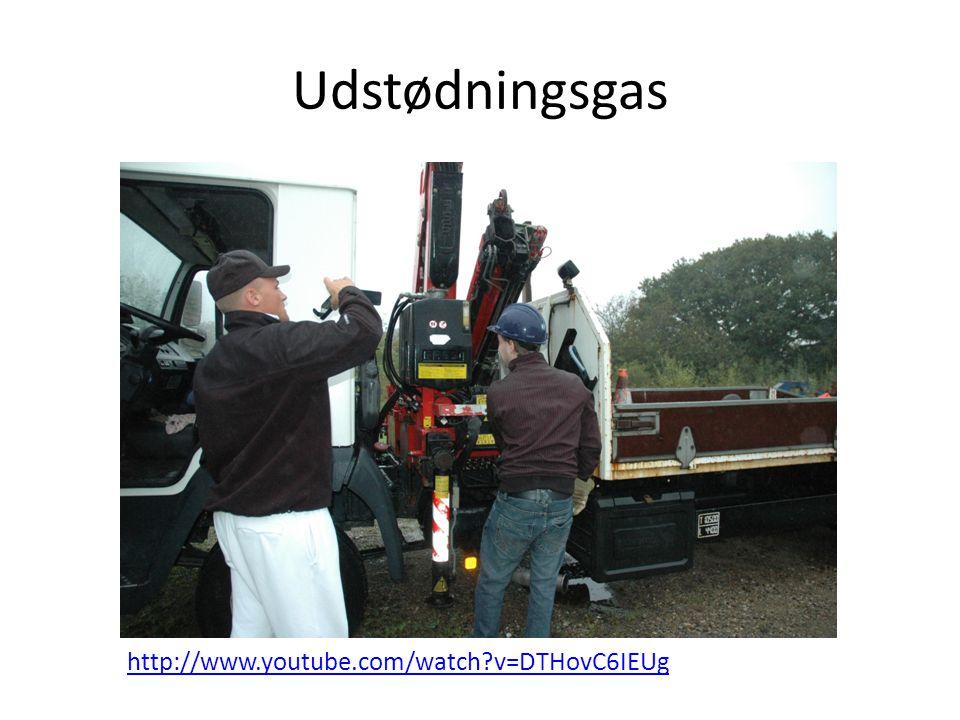 Udstødningsgas http://www.youtube.com/watch v=DTHovC6IEUg