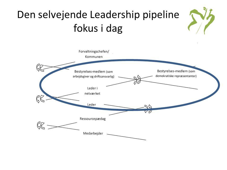 Den selvejende Leadership pipeline fokus i dag