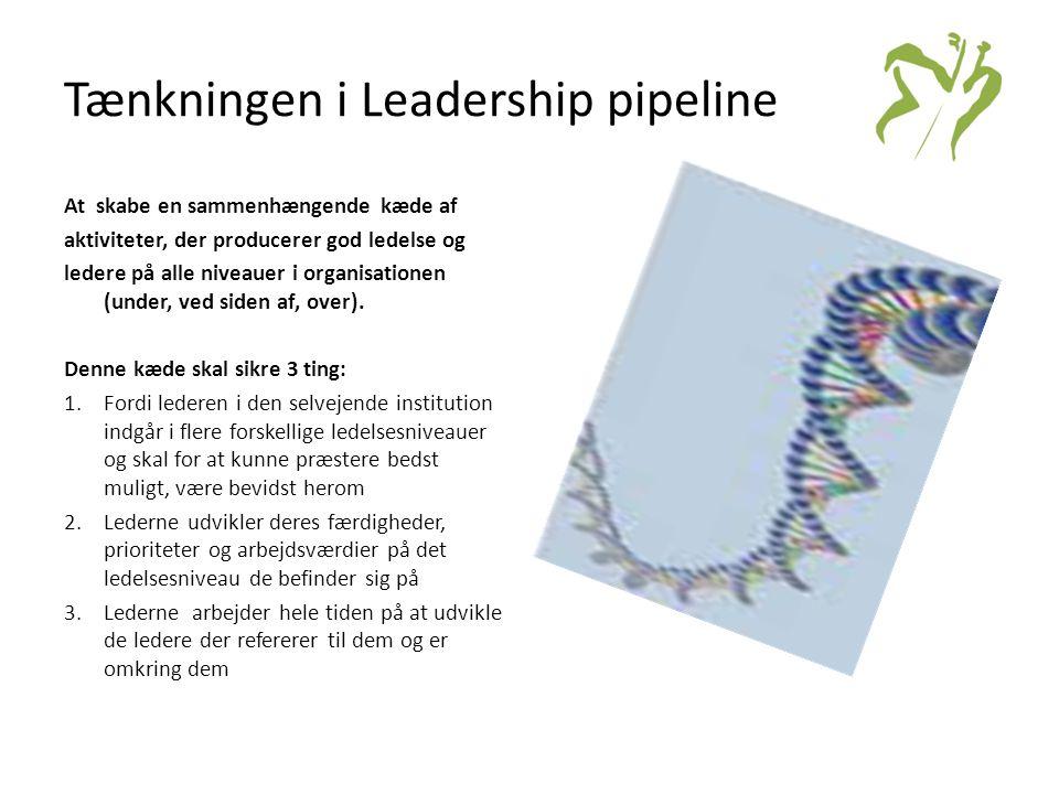Tænkningen i Leadership pipeline