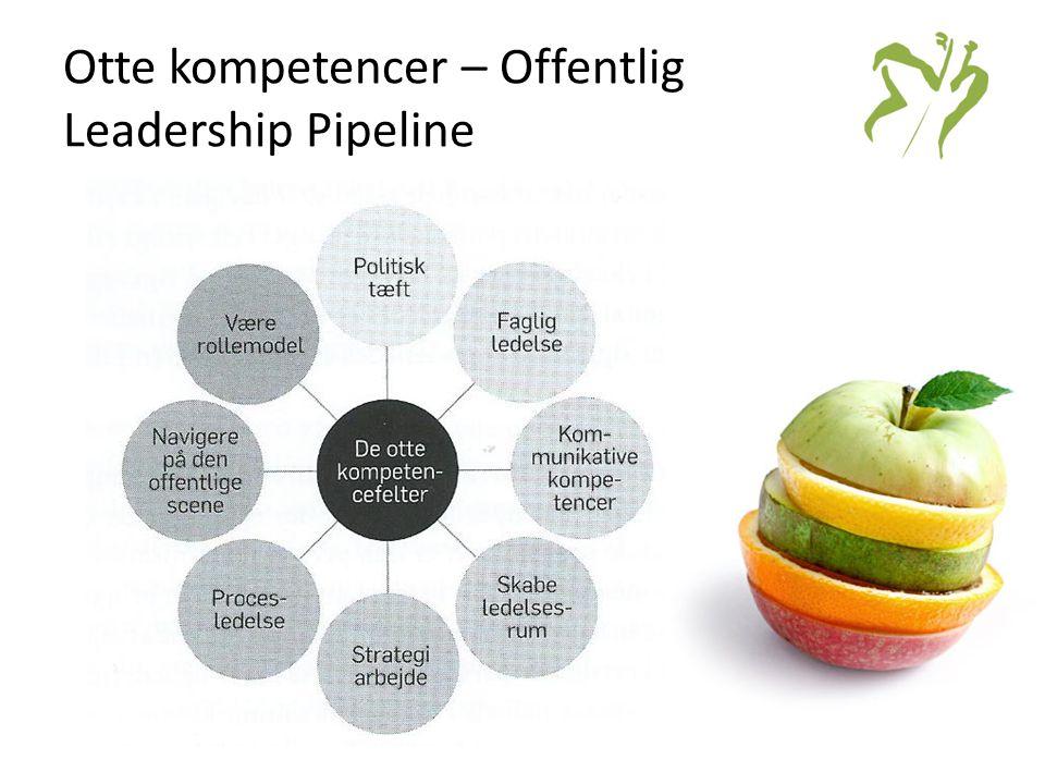 Otte kompetencer – Offentlig Leadership Pipeline