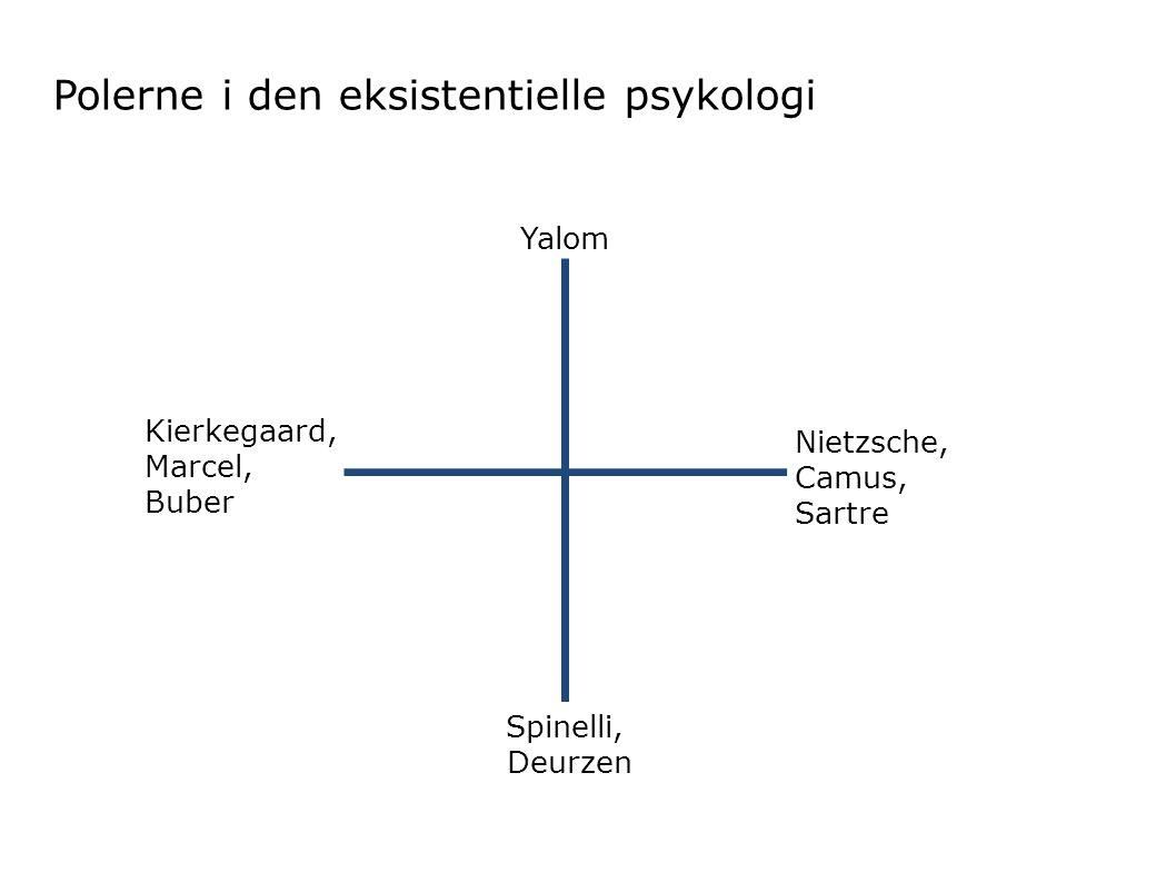Polerne i den eksistentielle psykologi