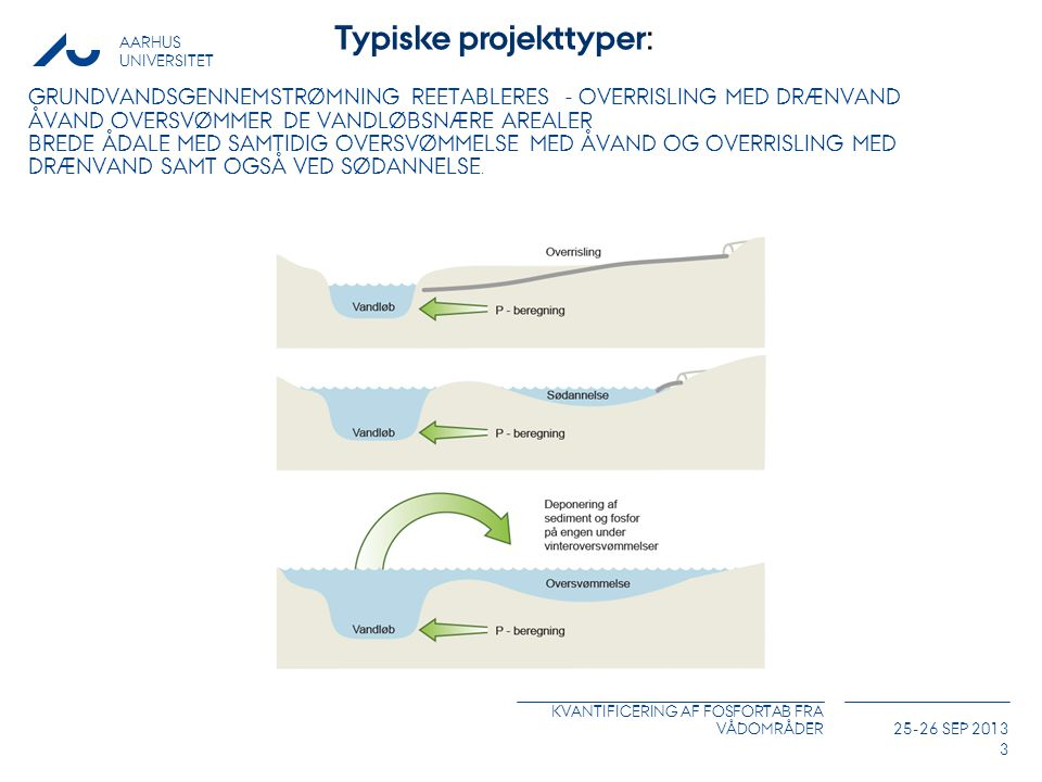 Typiske projekttyper: