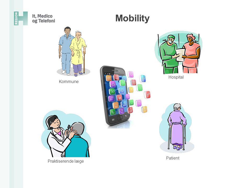 Mobility Hospital Kommune Patient Praktiserende læge