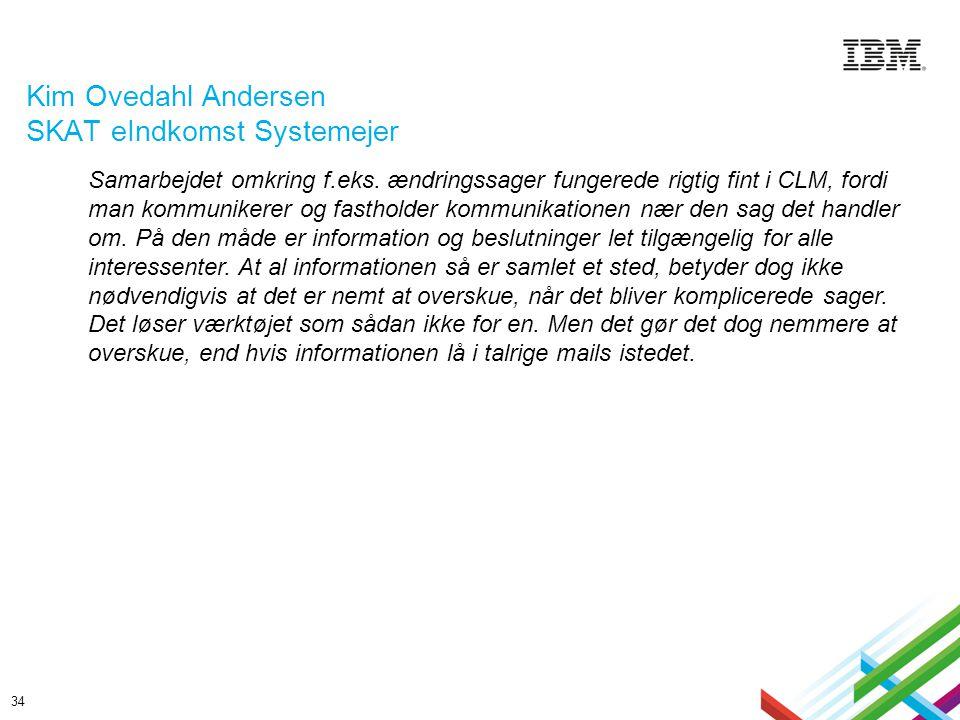 Kim Ovedahl Andersen SKAT eIndkomst Systemejer