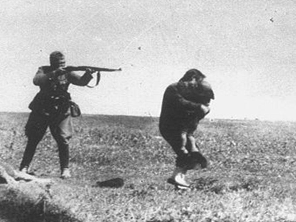 Handlingsanalyse 2. Hvorfor skyder den tyske soldat på moren og barnet