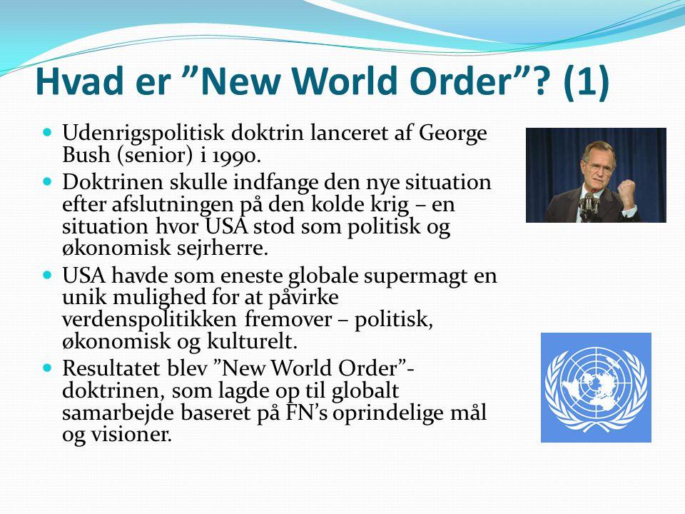 Hvad er New World Order (1)