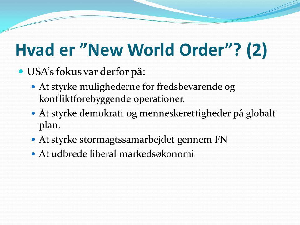 Hvad er New World Order (2)