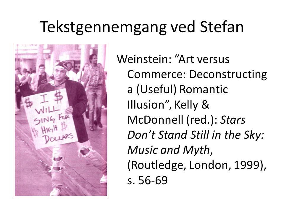 Tekstgennemgang ved Stefan
