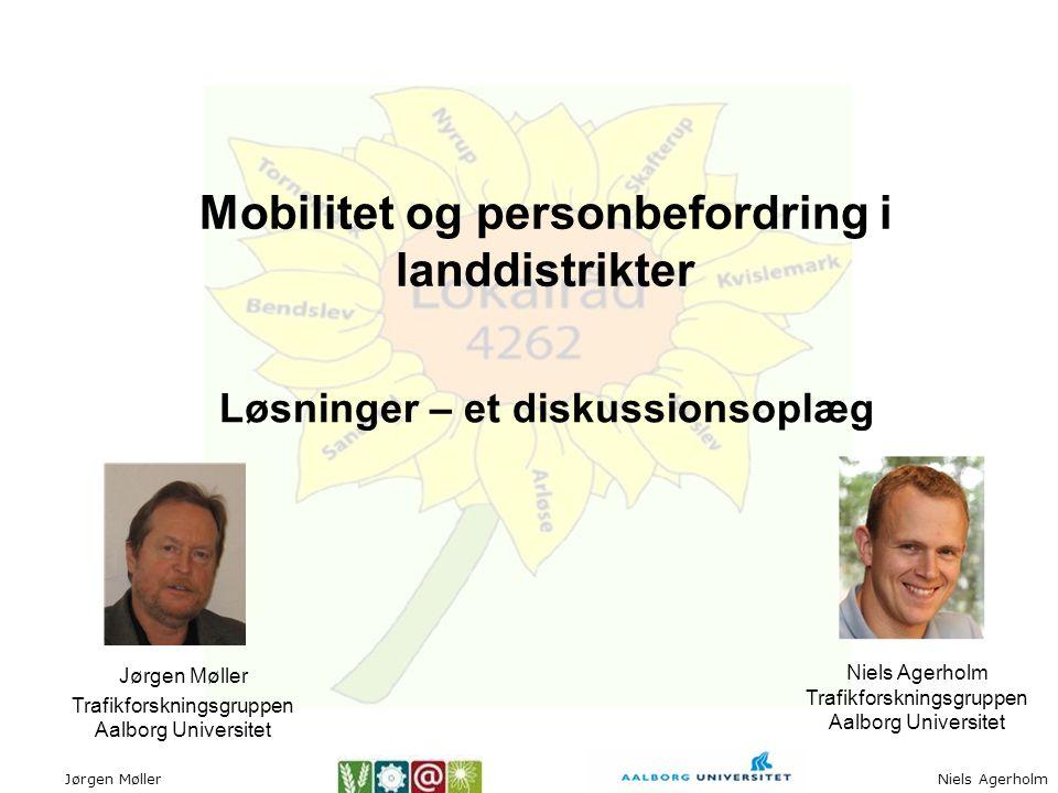Mobilitet og personbefordring i landdistrikter