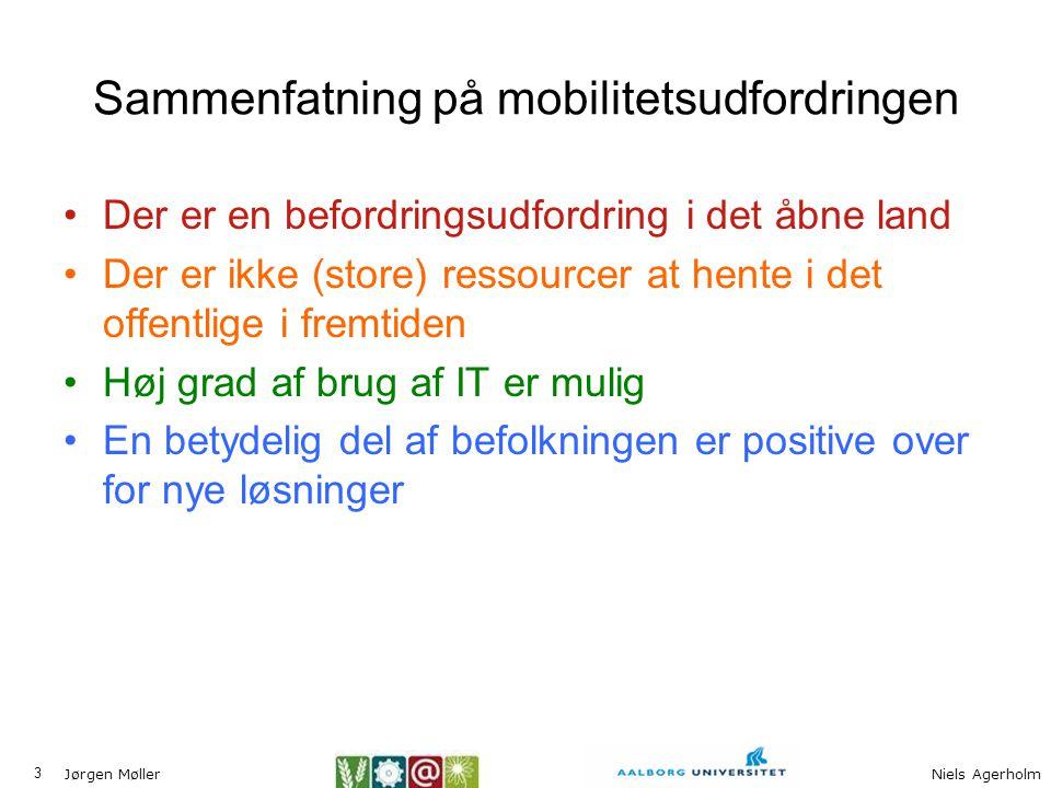 Sammenfatning på mobilitetsudfordringen