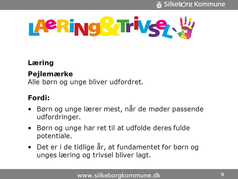 Lærings- og trivselspolitik
