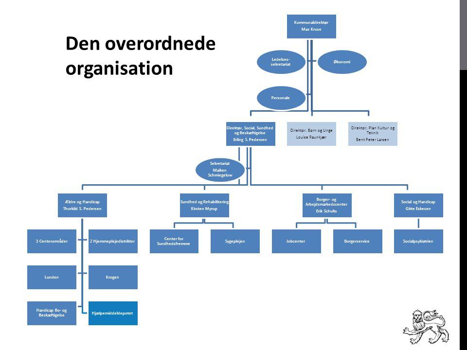 Den overordnede organisation