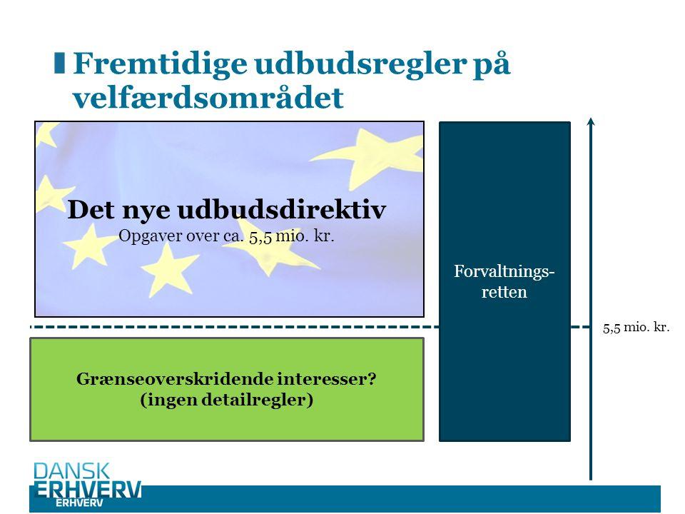 Fremtidige udbudsregler på velfærdsområdet