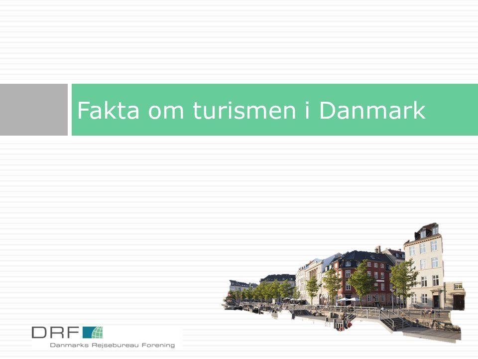 Fakta om turismen i Danmark
