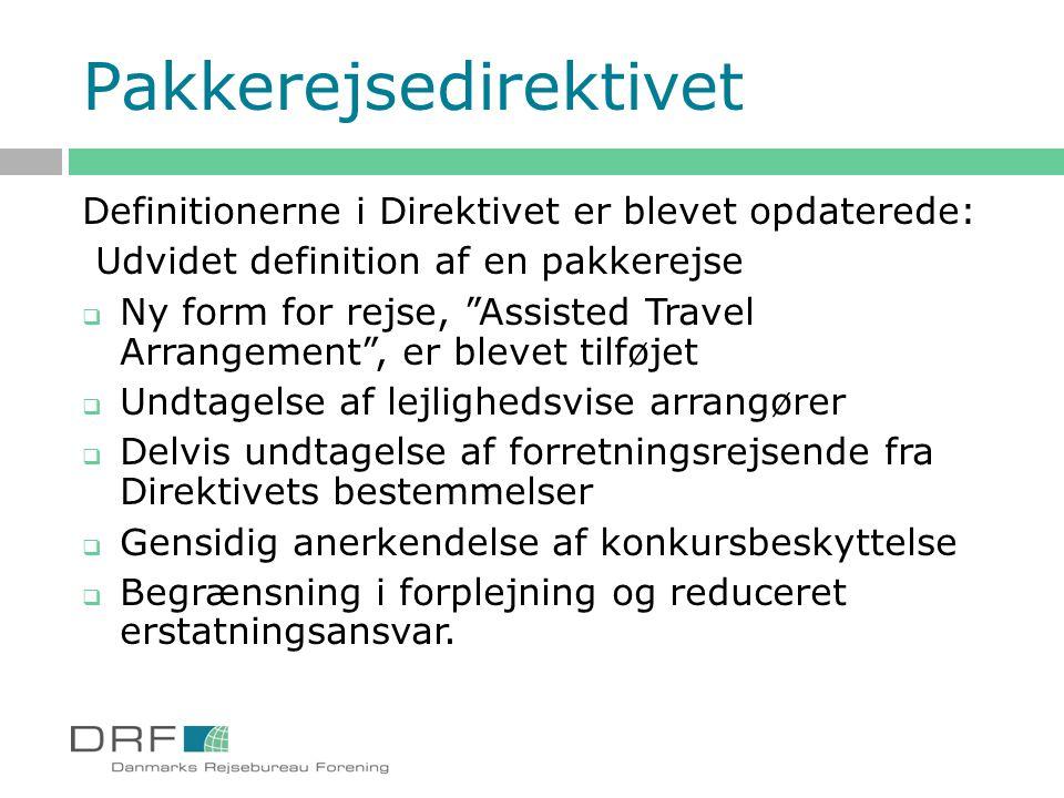 Pakkerejsedirektivet