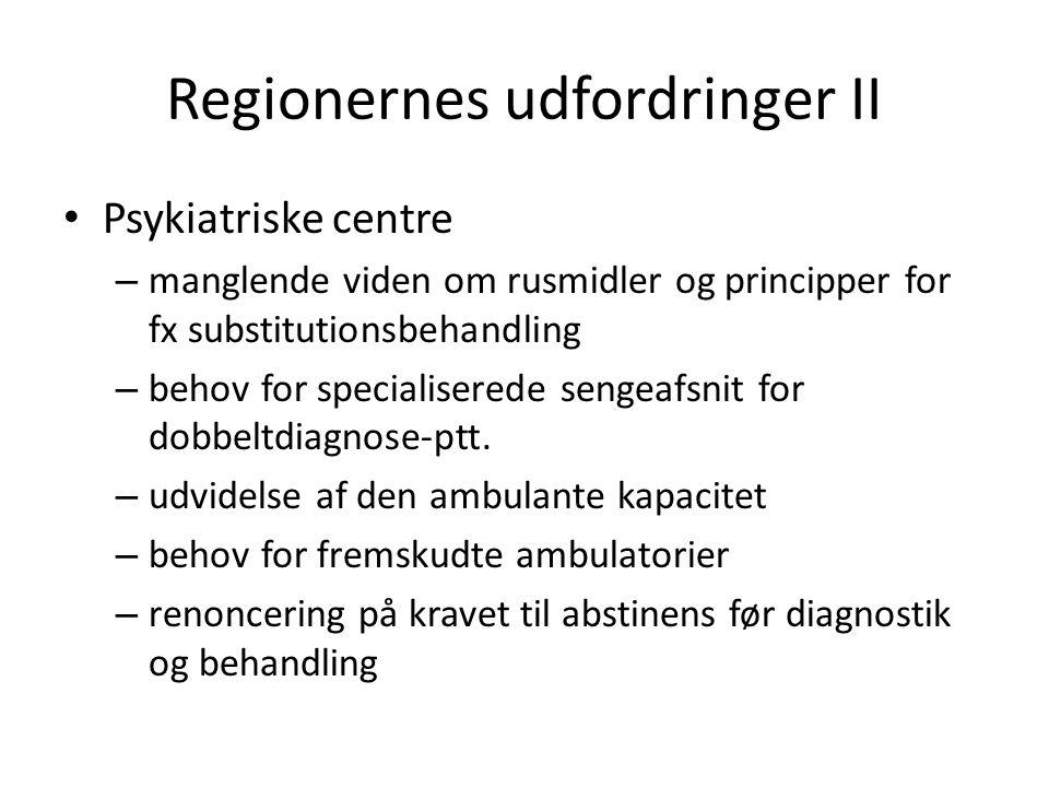 Regionernes udfordringer II