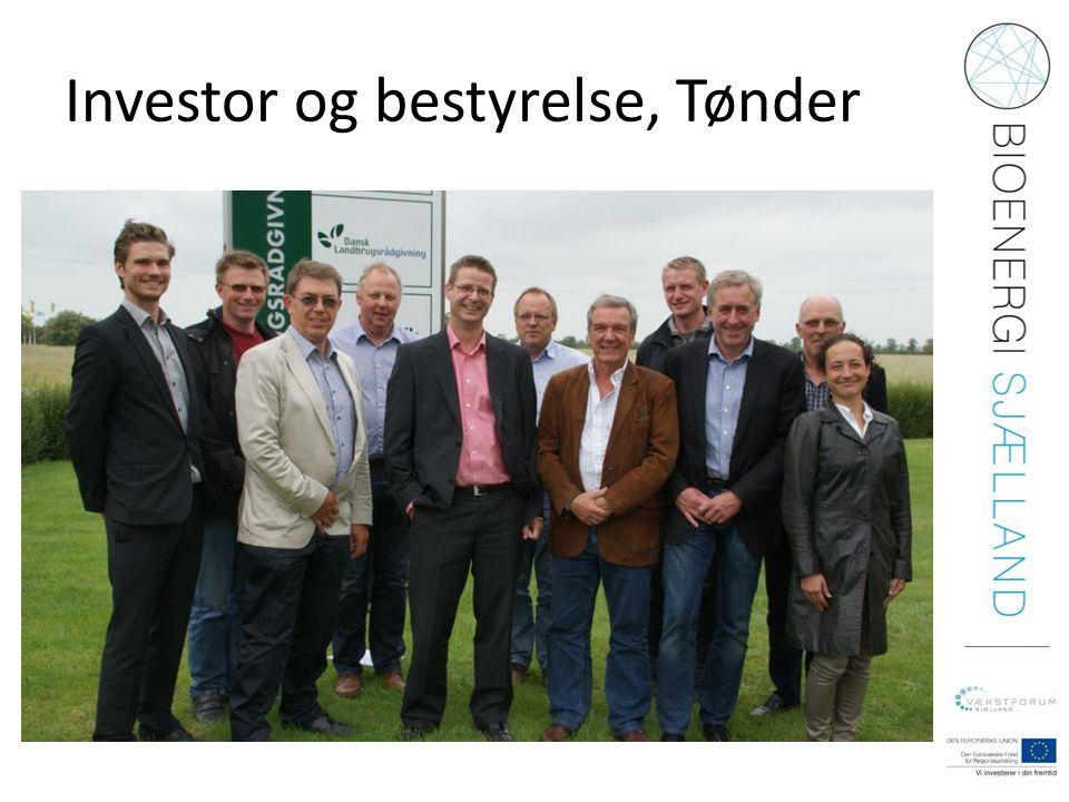 Investor og bestyrelse, Tønder