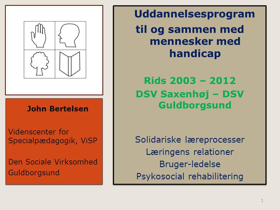 Rids 2003 – 2012 DSV Saxenhøj – DSV Guldborgsund