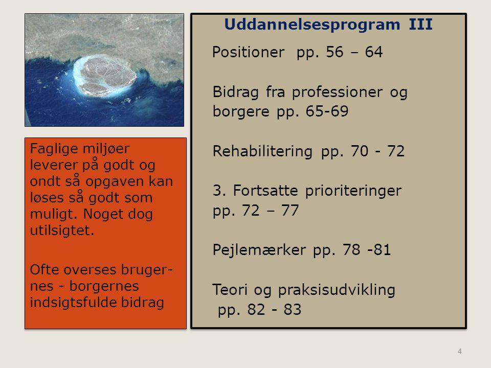 Uddannelsesprogram III