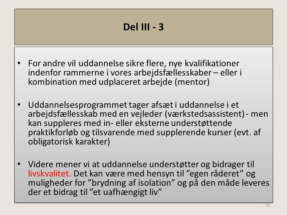 Del III - 3
