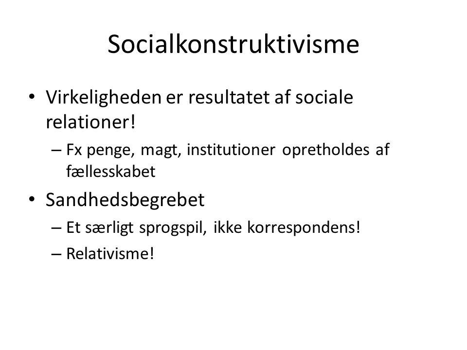 Socialkonstruktivisme