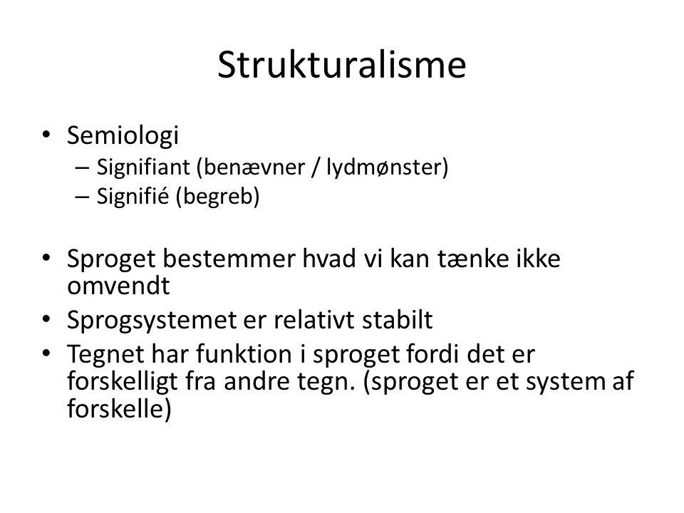 Strukturalisme Semiologi