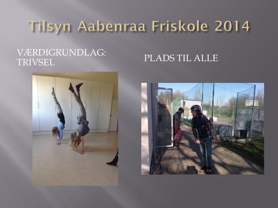 Tilsyn Aabenraa Friskole 2014